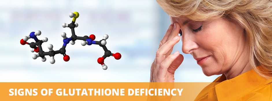 Signs of Glutathione Deficiency