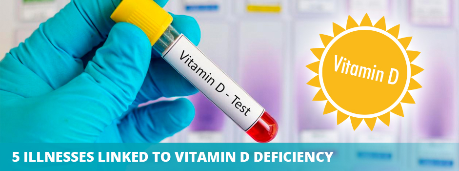 5 Serious Diseases Linked to Chronic Vitamin D Deficiency