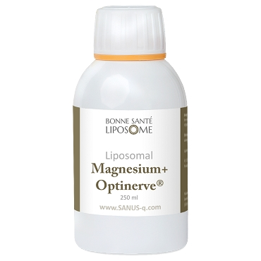 Liposomal Magnesium+ Optinerve - 250ml - Bonne Sante Liposome