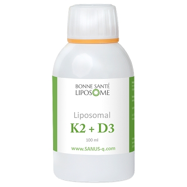 Liposomal Vitamin D3+K2 - 100ml - Bonne Sante Liposome