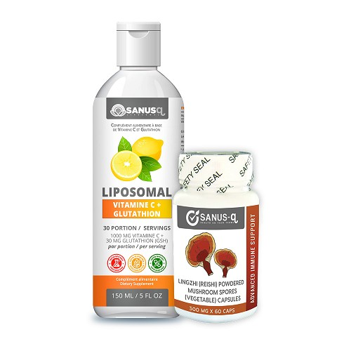 Liposomal VItamin C and Reishi Mushroom Bundle